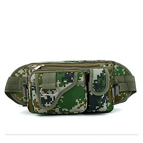 DWSLY De múltiples Fines 27x11x16cm Multifuncional Pesca al Aire Libre Bolsa de Cintura al Aire Libre Fanny Cintura Paquete Ejército Táctico Bolsa de Cintura Bolsa Bolsa para Escalada al Aire Libre