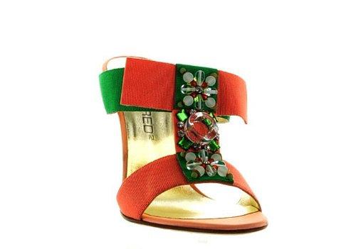 Dsquared Multicolor Leather Shoes, 35, Multicolor