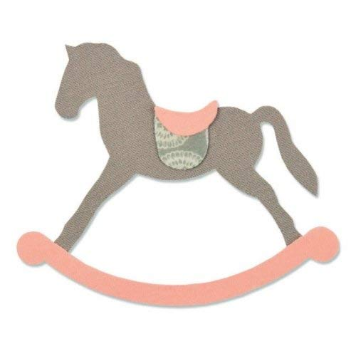 Sizzix Fustella Bigz Big Shot Cavallo a Dondolo 661983