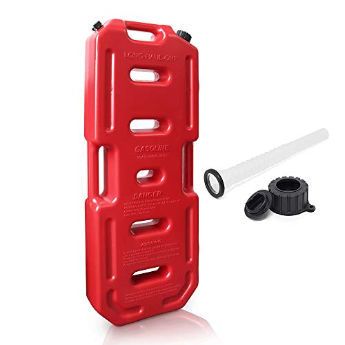 Reliancer 5.28 Gallons Gas Cans 20L Portable Spare Fluid Transfer Tank Gas Storage Container Tank Power Emergency Backup for Off Road Car SUV ATV Pickups Motorcycle Jeep JK Wrangler