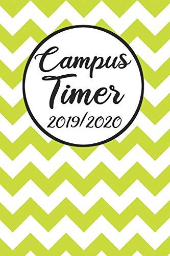 Campus Timer 2019/2020: Campustimer 2019 2020 | Studienplaner A5, Semesterkalender für Uni Studenten