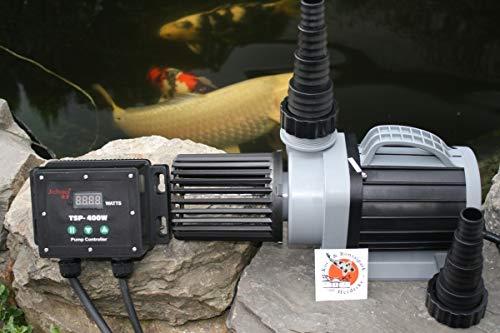 Aquariolux Stufenlos regelbare Eco Vario Teichpumpe 30000/52-385 Watt