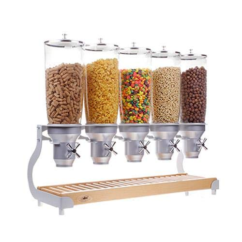 Lowest Prices! Cal-Mil 3516-5-98 Cereal Dispenser (5) 5 Liter Capacity Cylinders