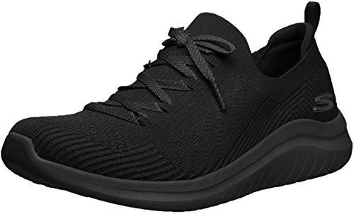 Skechers Women's Athleisure Sneaker, Black/Black, 10