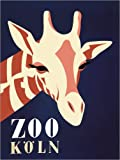 Poster 100 x 130 cm: Zoo Köln von Advertising Collection -