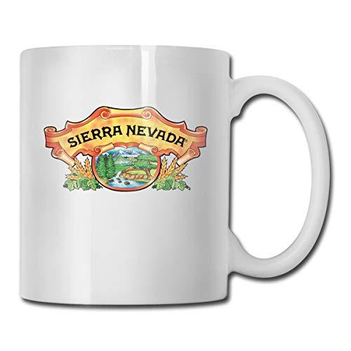 Jldoenh Udjgn Sierra Nevada Pale Ale taza taza de porcelana taza 330 ml cerámica uso en el hogar oficina protección del medio ambiente