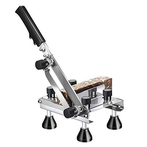 YFGQBCP cortadora de fiambre Manual de la máquina de Cortar Carne de Acero Inoxidable máquina de Cortar la Rebanada Adecuado for KitchenRestaurants Hogar, restaurantes, Hot Pot restaurantes, etc.