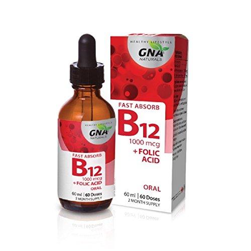 GNA Naturals B12 + Folic Acid - 60ml