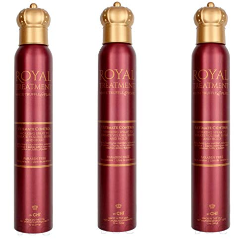 ROYAL TREATMENT ULTIMATE CONTROL WORKING HAIR SPRAY- 12oz Pack Of 3