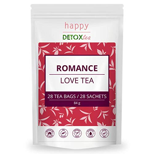 Happy Detox Tea - Romance - Liebestee - 28 Teebeutel