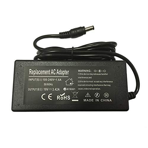 YXDS Cargador Adaptador de Corriente para Ordenador portátil para Toshiba Satellite L500 L650 L670 L750D L850