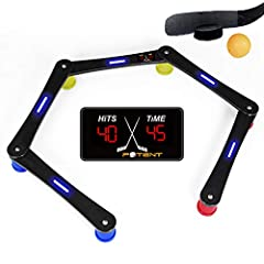 A revolutionized stickhandling training kit for puck control,reaction time,coordination and records tracking!How will this digitized training kit take your hockey game to a whole new level Accurate infomation by tracking scores and times Independent ...