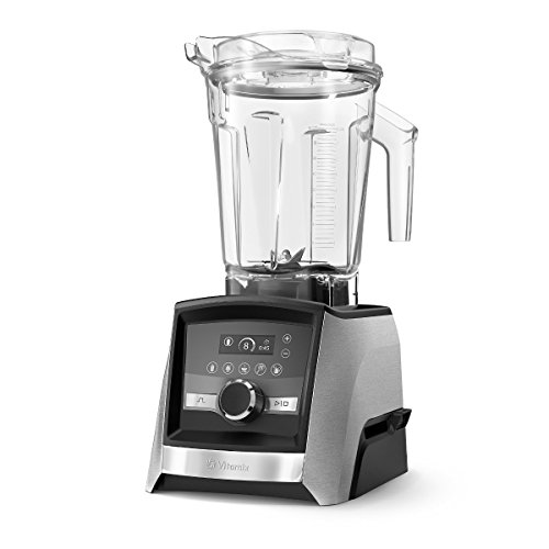Vitamix Ascent A3500 with brushed stainless metal finish