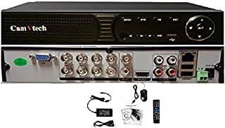 Camvtech Usa AHD 8 Channel 1080P High-End Hisilicon Chipset Mix mode 960Hx720Px960Px1080PxIPCxCVI/TVI, 1sata up 6Tb, Suppo...