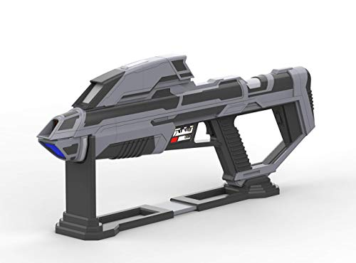 Starfleet Phaser Rifle - Star Trek Picard - Cosplay - 3d printed + LEDs + Stand