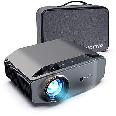 vamvo L6200 1080P Full HD Video Projector