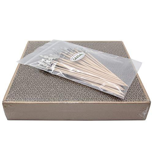 Cali&Brita【塗装棒30本+塗装ベース1台】 塗装ベース 塗装棒 セット プラモデル フィギュア 塗装 ペイント エアブラシ (M:245×230)