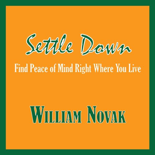 Settle Down audiobook cover art