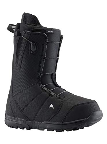 Burton Men's Moto Boots, Black, 9.5 UK(10.5 US/43.5 EU)