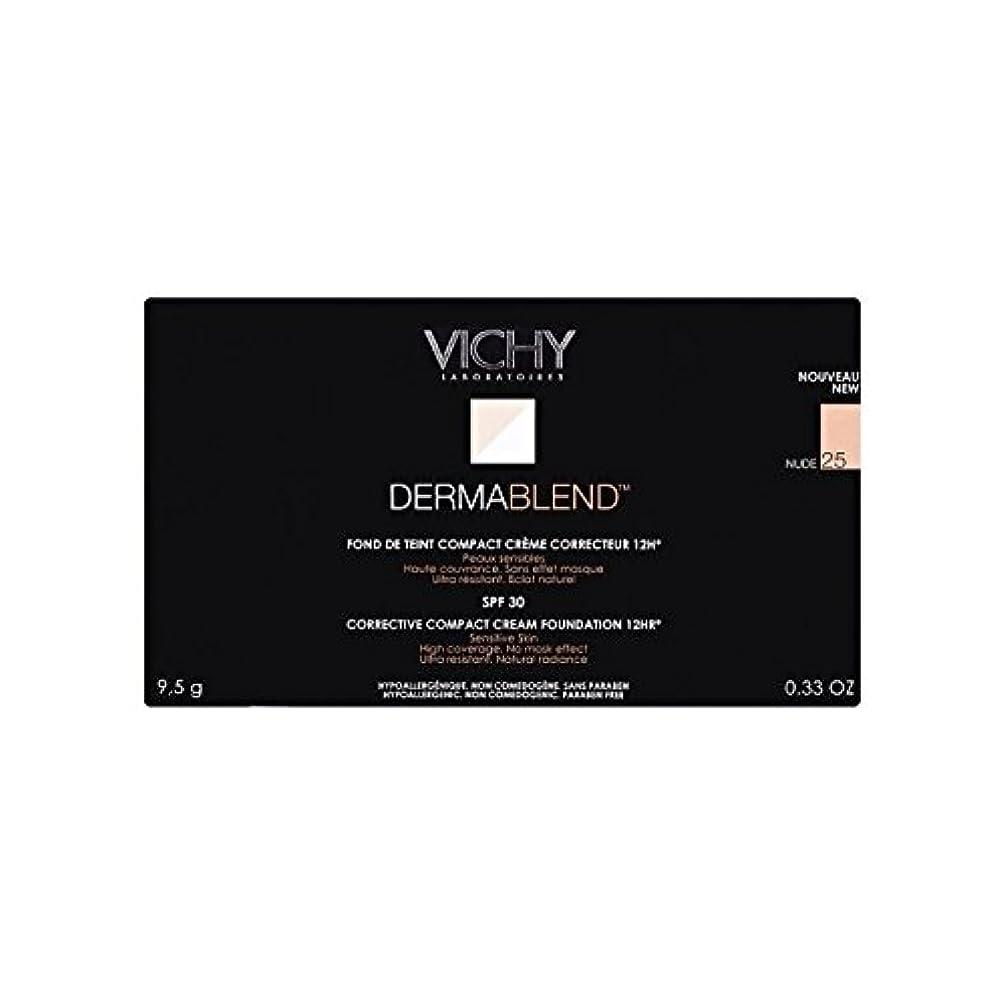 木曜日昼寝特権的Vichy Dermablend Corrective Compact Cream Foundation Nude 25 - 25ヌードヴィシー是正コンパクトクリームファンデーション [並行輸入品]