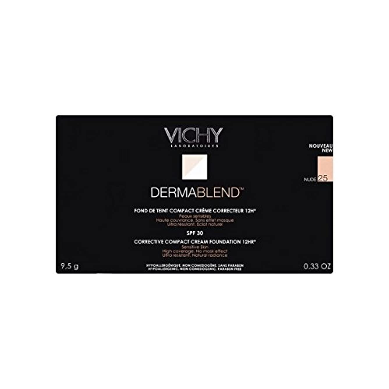 リズムレビュアーアーカイブ25ヌードヴィシー是正コンパクトクリームファンデーション x2 - Vichy Dermablend Corrective Compact Cream Foundation Nude 25 (Pack of 2) [並行輸入品]