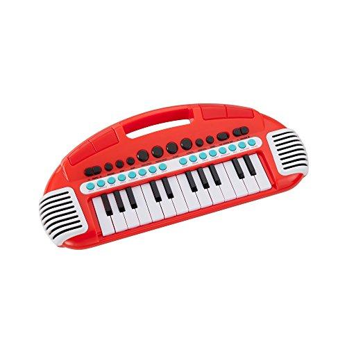 Room Studio - 143625 - Piano de musique pour Enfants - Portable - Rouge