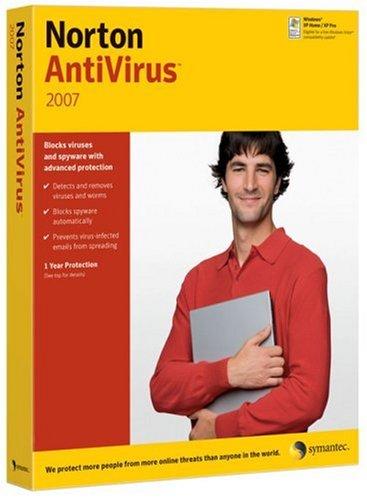 Norton AntiVirus 2007 - Ensemble complet - 1 utilisateur - CD - Win - International