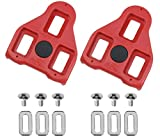 Boerte Compatible with Peloton Look Delta (9 Degree Float) Bike Replacement Cleats - Indoor Cycling & Road Bike Cleat Set - Fully Compatible with Peloton & Spin - Perfect for Beginner