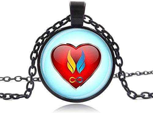 Twin flam Pendant Twin Flame Love Necklace Pendant Twin Flame Jewelry Heart Charm Jewelry Soul Mate Jewelry