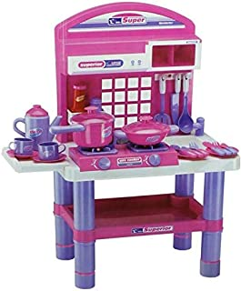 Kitchen Play Set for Girls , Age 3+