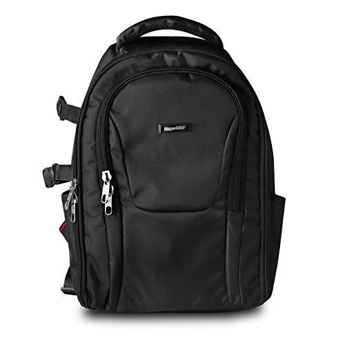 MegaGear Vernal SLR, DSLR Kamera und Laptop Rucksack mit Regenschutz - Zubehör Tasche - Schwarz