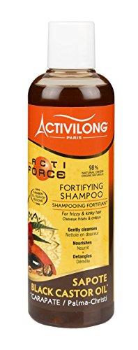Activilong Actiforce - Shampoo fortificante al ricino nero di Giamaica e al sapote, 250 ml