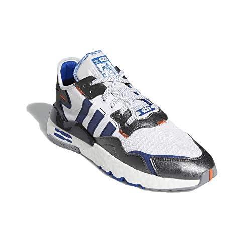 adidas Uomo Nite Jogger - Star Wars Sneaker Bianco, 37 1/3