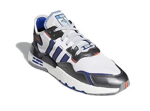 adidas Hombre Nite Jogger - Star Wars Zapatillas Blanco, 37 1/3