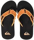 Quiksilver Monkey Abyss Youth, Zapatos de Playa y Piscina Hombre, Naranja...