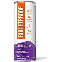 12-Pack Bulletproof Iced Keto Cold Brew Coffee 8 Fl Oz (Dark Chocolate)