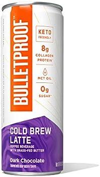 12-Pack Bulletproof Iced Keto Cold Brew Coffee 8 Fl Oz