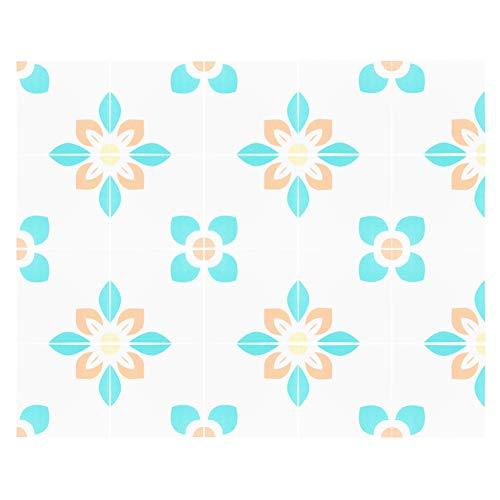 YJZO Wall Sticker-20Pcs Antideslizante Impermeable Etiqueta de Suelo de Pared Autoadhesiva Pegatinas de baldosas de cerámica 20x20cm