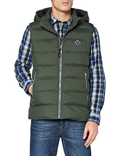 GANT Herren D1. The Active Cloud Vest Jacke, Thyme Green, M
