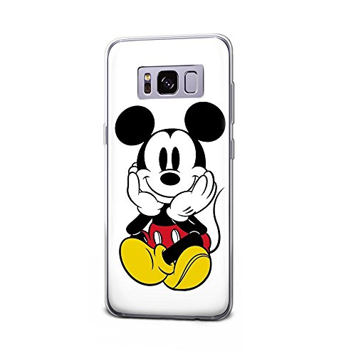 GSPSTORE Galaxy S8 Plus Case Cartoon Mickey Minnie Mouse Hard Plastic Protection Cover for Samsung Galaxy S8 Plus #3