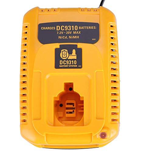 Für Dewalt DC9310 Ladegerät 7.2V-18V Ni-CD Ni-MH DW9057 DC9071 DC9091 DC9096 Batteia