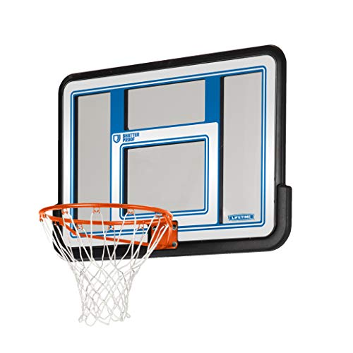 Lifetime 73650 44 Inch Shatterproof Backboard and Rim Combo Kit Connecticut