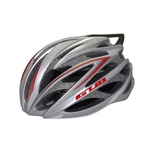 JM- Mountainbike-Helmschutzhelm aus einem Carbon-Endstück aus einem Stück Rennrad (Color : B)