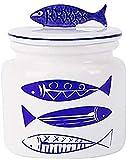 TREEECFCST Urna para Perros Cenizas niños Pet de Mascotas urn pez de Madera Estilo Europeo cerámica Sello Memorial