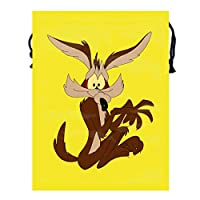 ワイリーe,コヨーテ1 トラベル収納バッグド多機能スポーツバッグ ジムバッグ 巾着 バッグ シューズ ケース 乾湿分離ポータブルい 巾着ポケット 収納袋