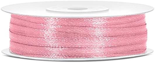 Satinband mit Punkten gepunktet Farbenwahl Dekoration Geschenk Dekoband 6mm//25m
