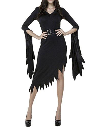 Gladiolus Costume per Travestimento Gotico da Strega Travestimento da Vampiro per Adulti