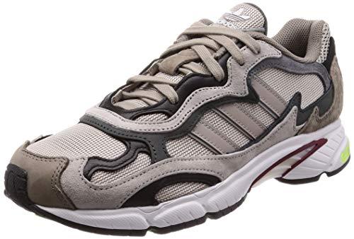 adidas Temper Run, Scarpe da Fitness Uomo, Multicolore (Marsua/Grisei/Negbás 000), 43 1/3 EU