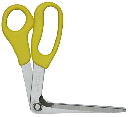 Learn More About Right Shears – Original Innovative Scissors – Cut Plastic, Cardboard, Food, Fabric, with Your Wrist Straight and Your Hand Clear!