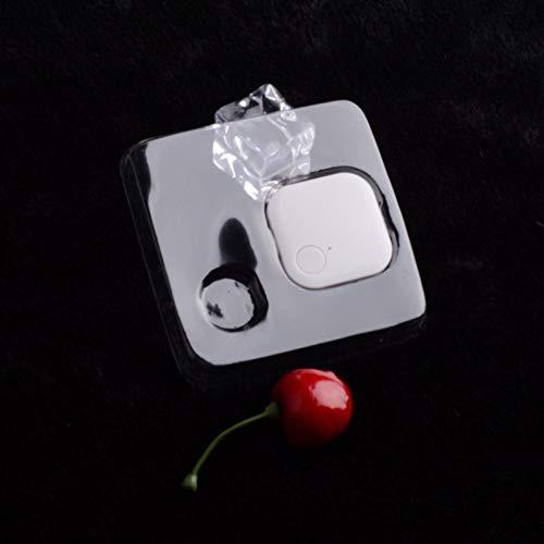 Hengyuanyi Draagbare Draadloze Bluetooth Huisdier Tracker Sleuteltelefoon Tracking Finder Lactor met APP Controle Anti Verloren Apparatuur voor Portemonnee Bagage Slimme Telefoon Huisdier - Wit